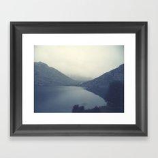 g l o m m y Framed Art Print