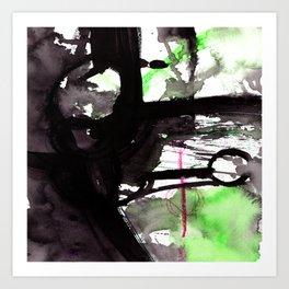 Brush Journey 9j by Kathy Morton Stanion Art Print