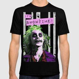 """BEETLE JUICE """"It's Showtime! T-shirt"""