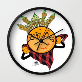 zaragoza Wall Clock