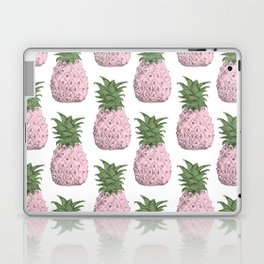 Pink pineapple pattern Laptop & iPad Skin