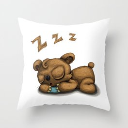 I need some sleep Throw Pillow