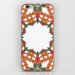 Embroidered Pattern iPhone Skin