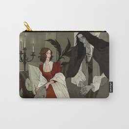 Mary Shelley and Her Creation Carry-All Pouch