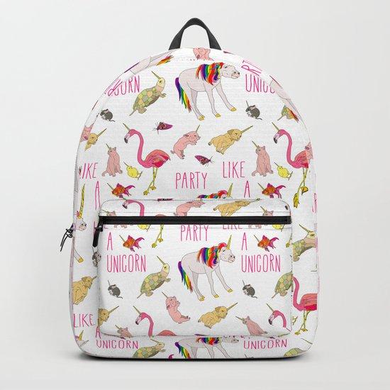 Party Like A Unicorn Backpack