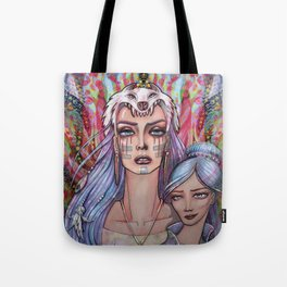 Women Who Run with the Wolves Tote Bag