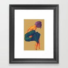 I'm Cold Framed Art Print