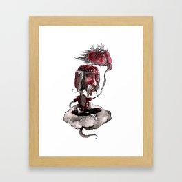 Open Your Head Framed Art Print
