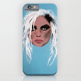 Lady of the eighties - Painting iPhone Case