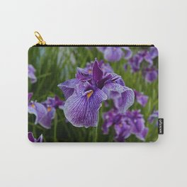 Garden Party (irises) Carry-All Pouch
