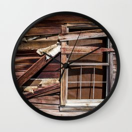Shuttered Wall Clock
