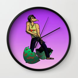 The Num Nums - Randy Just Has To Dance Wall Clock