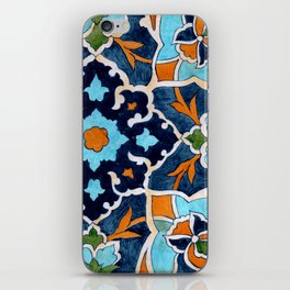 Mediterranean tile iPhone Skin