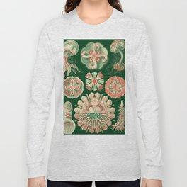 Ernst Haeckel Discomedusae Jellyfish Long Sleeve T-shirt