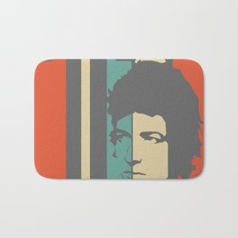 Bob Dylan Retro Homage Bath Mat