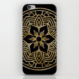 Dazzling mandala iPhone Skin