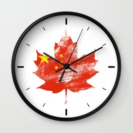 Portugal/Canada Wall Clock