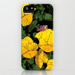 Mellow Yellow by Daniel MacGregor iPhone Case