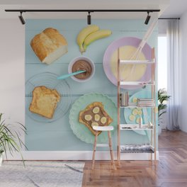 Fench toast breakfast Wall Mural