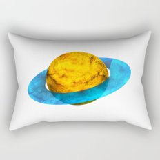 Colorful watercolor hand drawn planet. Rectangular Pillow