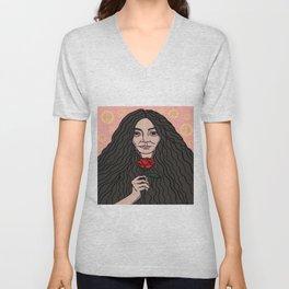 Yoko Ono Unisex V-Neck