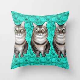 Missy 2 Throw Pillow