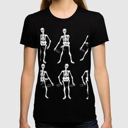 """Skeleton Dance"" Halloween Shirt For October 31st T-shirt Design Spooky Creepy Halloween Scary Ghost T-shirt"
