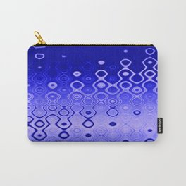 Lost in Dots (ultramarine night) Carry-All Pouch