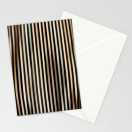 Mid Century Stripes Stationery Cards
