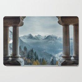 The view - Neuschwanstin casle Cutting Board