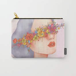 Blinded by Beauty Carry-All Pouch