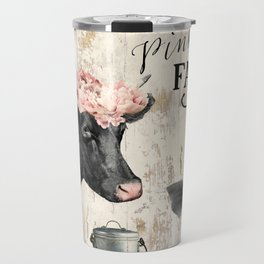 Pink Nose Farm I Travel Mug