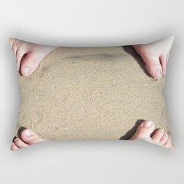 Beach Bums Rectangular Pillow