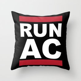Run Atlantic City Throw Pillow
