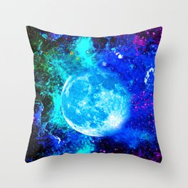 Moon #1 Throw Pillow