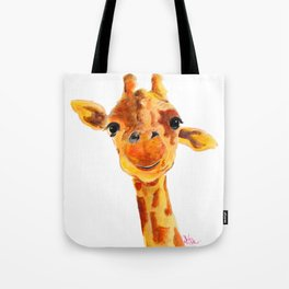 GiRaFFe / Zoo PRiNT ' ToMMY ' BY SHiRLeY MacARTHuR Tote Bag