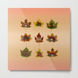 "Autumn ""tapas"" Metal Print"