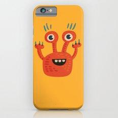 Funny Orange Happy Creature iPhone 6s Slim Case