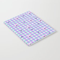 Gingham flowers Notebook