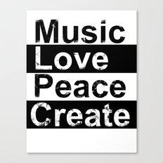 MLPC Grunge Canvas Print