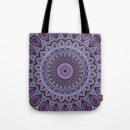 Blackberry Bliss - Mandala Art Tote Bag