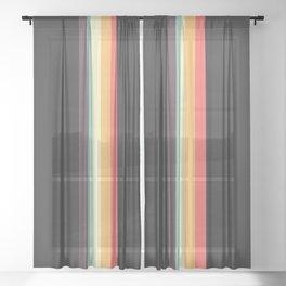 Retro Tipua Sheer Curtain