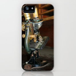 Old Microscope iPhone Case