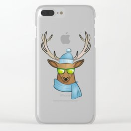 cool stag Clear iPhone Case