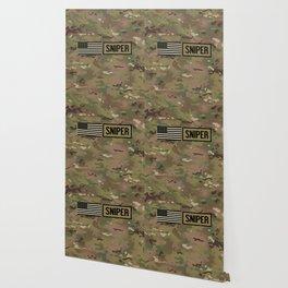 Military: Sniper (Camo) Wallpaper