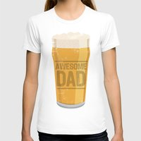 dad T-shirts featuring DAD by Kiley Victoria