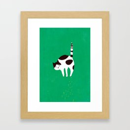 Hiss! Framed Art Print
