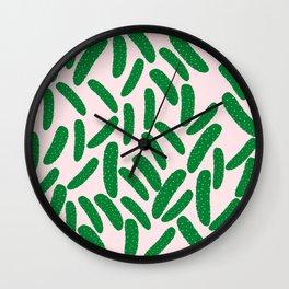 Cute Pickles Wall Clock