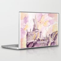 hogwarts Laptop & iPad Skins featuring hogwarts by impalei