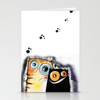 friendship Stationery Cards featuring friendship by Katja Main